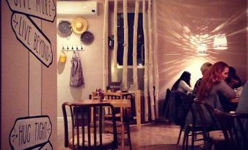 Les cafés à Erevan