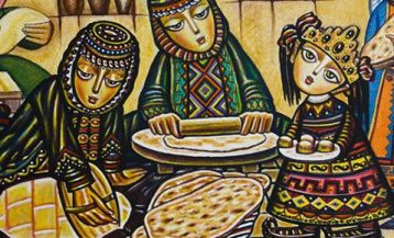 The Legend of Armenian bread Lavash