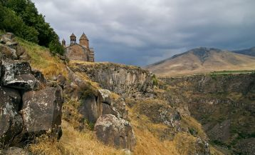The Legend of Saghmosavank Monastery