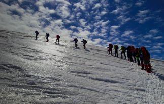 Trekking to Aragats Two Peaks
