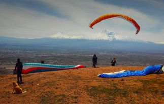 Paragliding Tandem Flight in Armenia