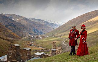 Tour nach Aserbaidschan, Georgien und Armenien in 21 Tagen
