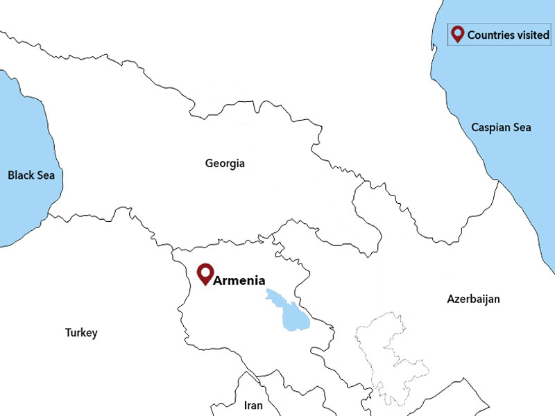 map-Весенний тур в Армению - 6 дней